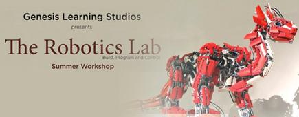 Genesis Learning Studios : The Robotics Lab Summer Workshop:image