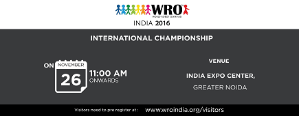 World Robot Olympiad INDIA 2016:image
