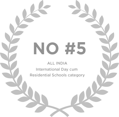 Ranked No 5 in All India International Day Cum Residential School Category - Genesis Global School