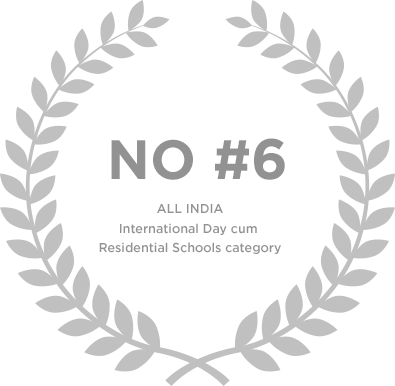 Ranked No 6 in All India International Day cum Residential Schools category - Genesis Global School