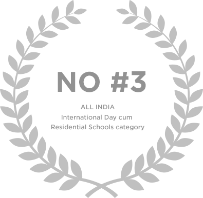 Ranked no 3 in All India International Day cum Residential Schools Category - Genesis Global School
