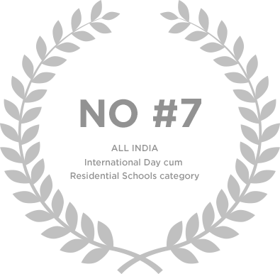 Ranked no.7 in All India International Day cum Residential School Category - Genesis Global School