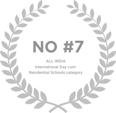 Ranked no.7 in All India International Day cum Residential School Category - Genesis Global School
