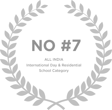 Ranked No 7 in All India International Day & Residential School Category - Genesis Global School