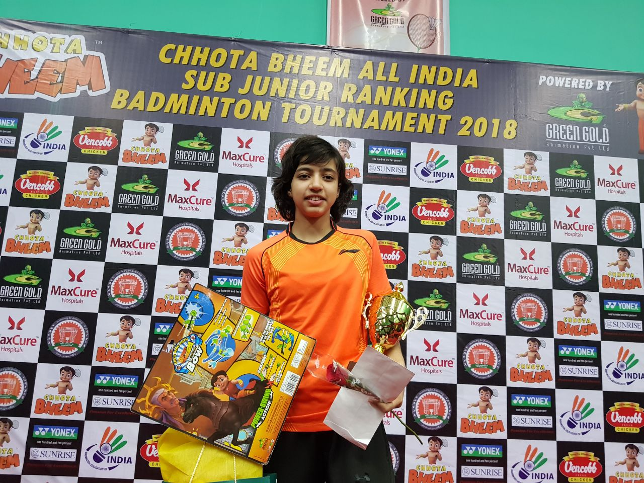 Sub-Junior All India Badminton Tournament
