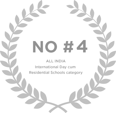 Ranked No 4 in All India International Day cum Residential School Category - Genesis Global School