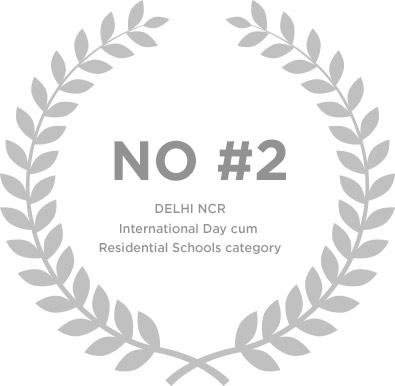 Ranked No.2 in Delhi NCR International Day Cum Residential School Category - Genesis Global School
