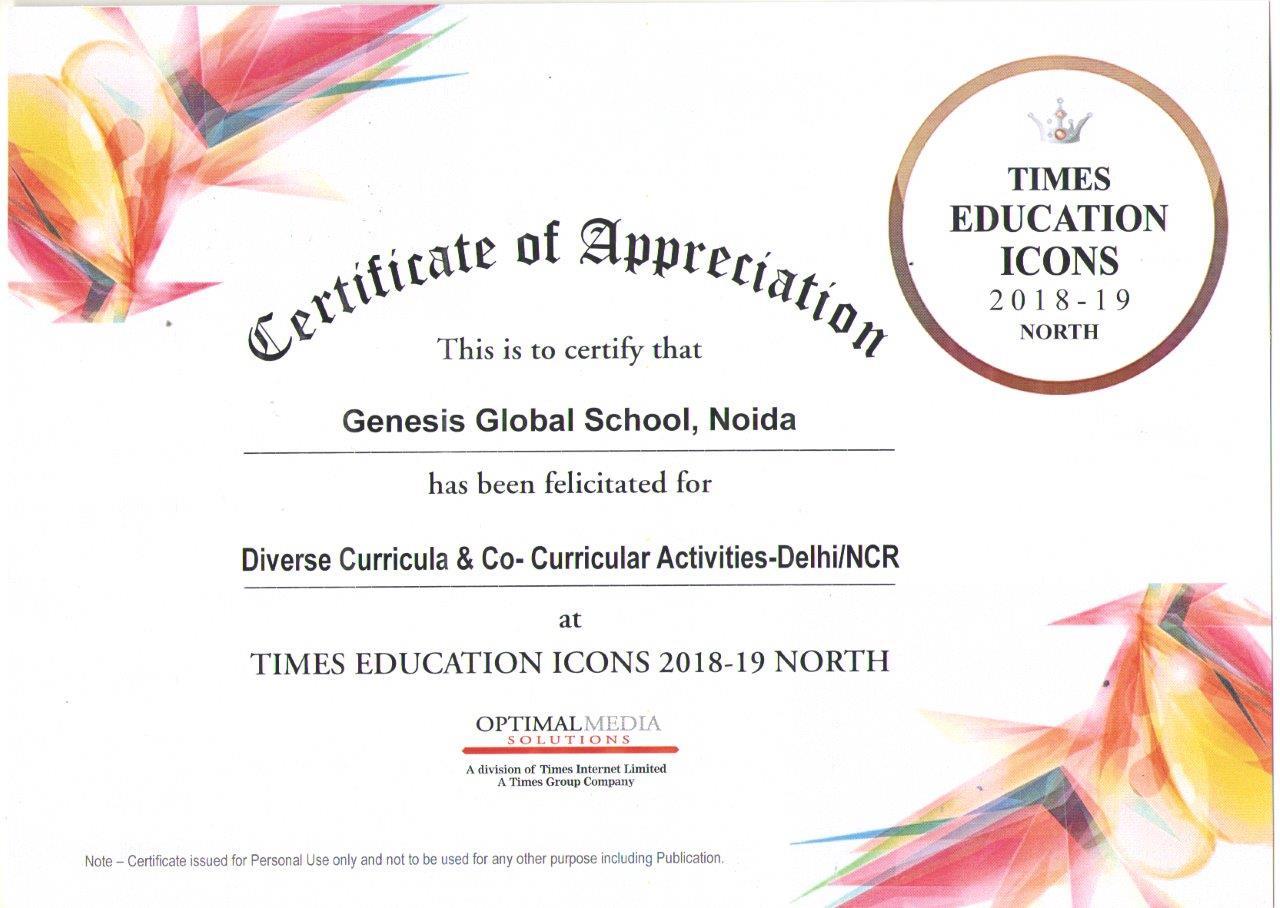 Times Education Icon Award