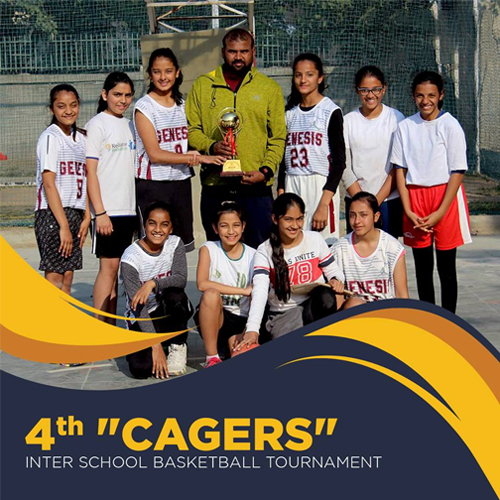 """The 4th """"Cagers"""" Inter School Basketball Tournament"""
