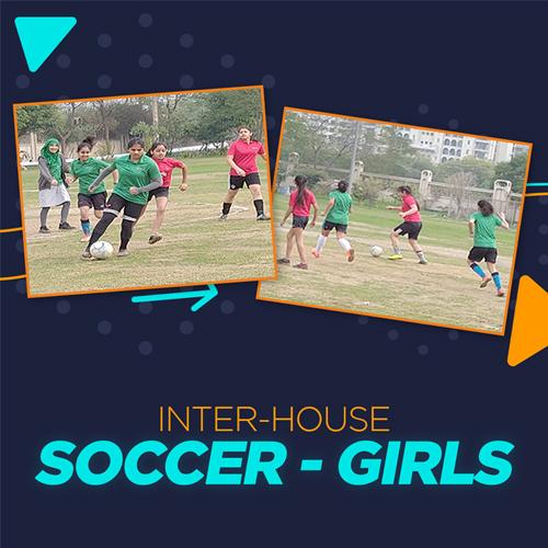 Inter-House Soccer Match