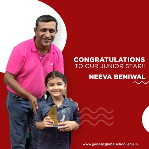 Congratulating! Genesian Neeva Beniwal
