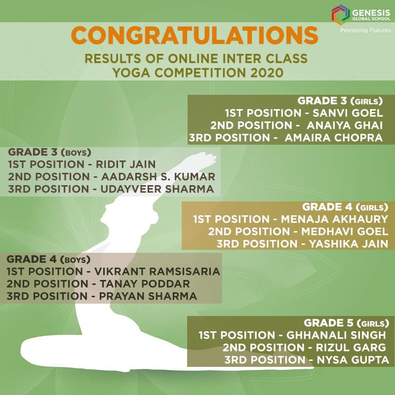Online Inter-Class Yoga Competition